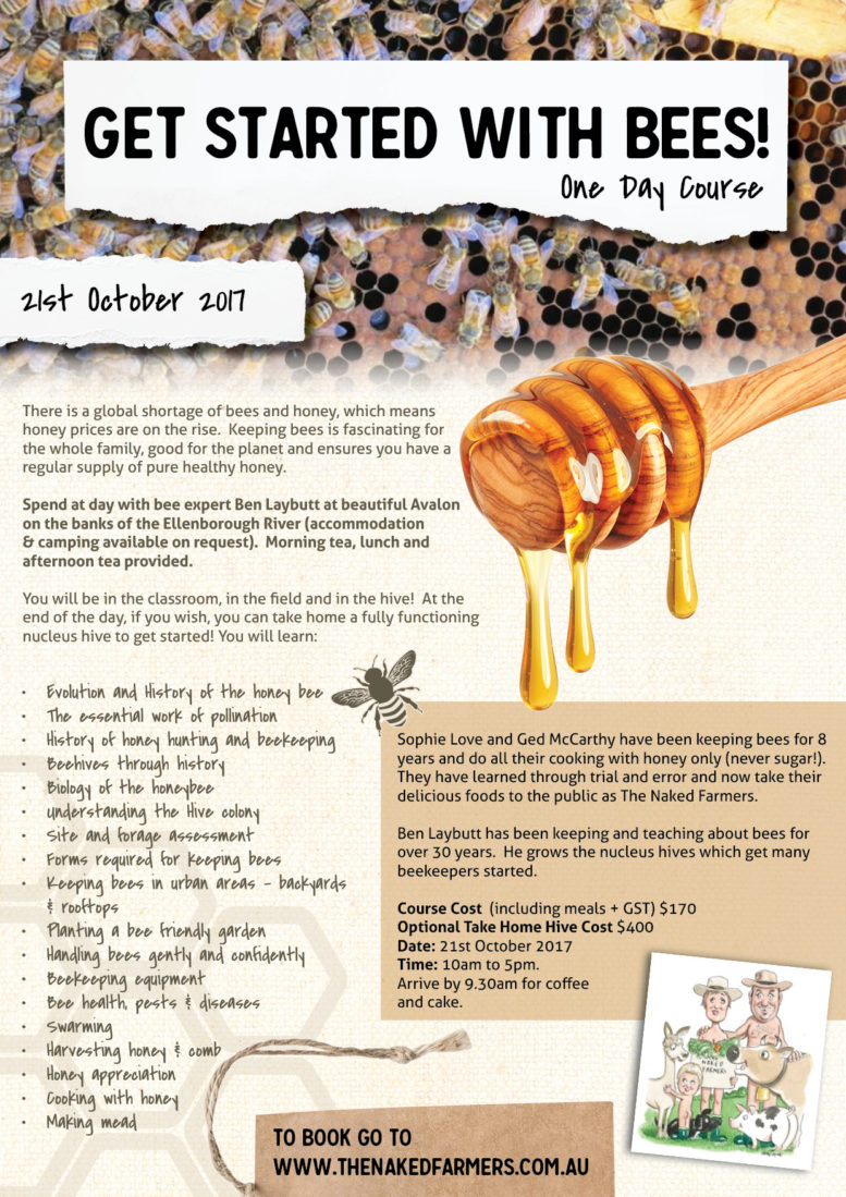 TheNakedFarmers-Get Started with Bees-Oct17
